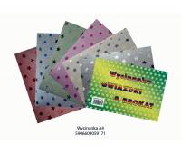 Wycinanka A4 brokat & gwiazdki, Produkty kreatywne, Artykuły dekoracyjne