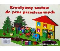 Zestaw kreatywny B4 - szkolny świat, Zestawy kreatywne, Artykuły dekoracyjne