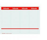 Etykiety grzbietowe do zadruku Esselte, Biały, Etykiety opisowe, Papier i etykiety