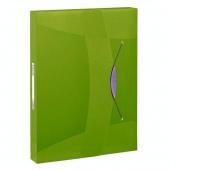 Teczka z gumką Esselte VIVIDA, 40 mm, VIVIDA Zielony, Teczki płaskie, Archiwizacja dokumentów