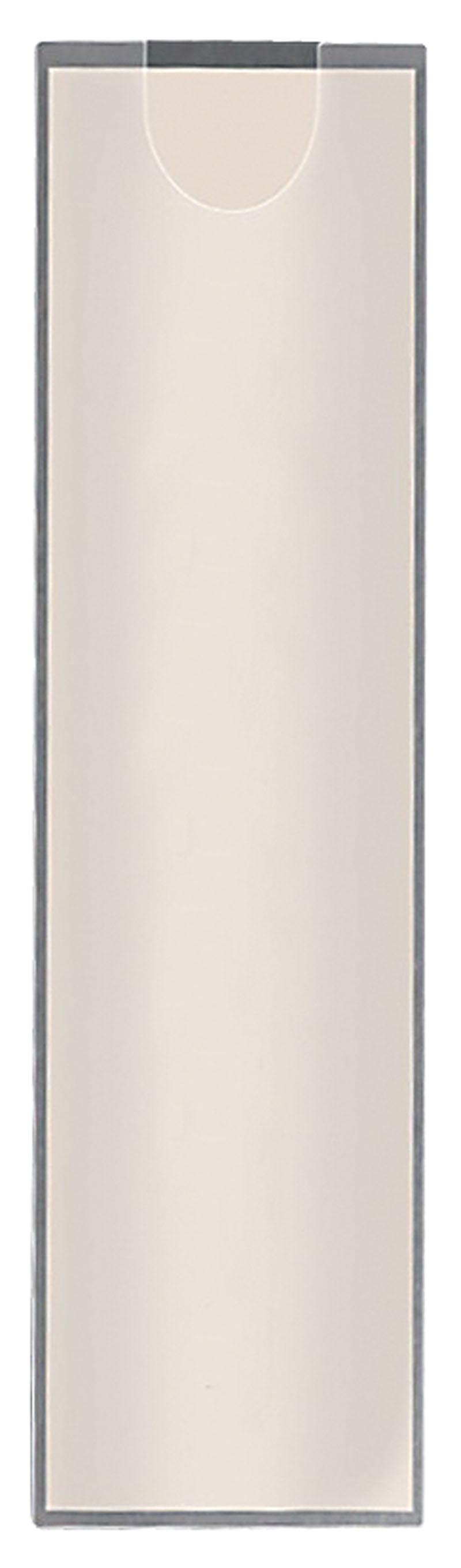 Kieszeń samoprzylepna Q-CONNECT, na etykiety, rozc. na kr. gór. boku, 35x102mm, 12szt., Kieszonki samoprzylepne, Drobne akcesoria biurowe
