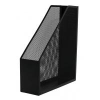 Pojemnik na dokumenty Q-CONNECT Office Set, metalowy, czarny