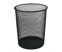 Waste Bin Q-CONNECT, metal, 19l, black