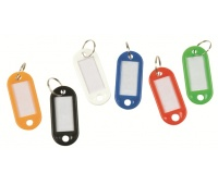 Key Tags Q-CONNECT, 58x20mm, 240pcs, assorted colours