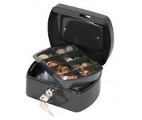 Cash Box Q-CONNECT, small, 155x75x120mm, black