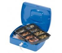 Cash Box Q-CONNECT, large, 255x85x200mm, blue