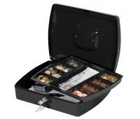 Cash Box Q-CONNECT, extra large, 325x85x235mm, black