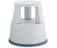 Office Mobile Step Stool Q-CONNECT, mobile, plastic, grey