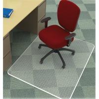 Under Chair Mat Q-CONNECT, carpet protection, 120x90cm, rectangular