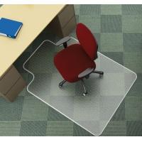 Mata pod krzesło Q-CONNECT, na dywany, 134x115cm, kształt T, Maty, Wyposażenie biura