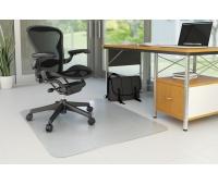 Under Chair Mat Q-CONNECT, hard floor, 120x90cm, rectangular