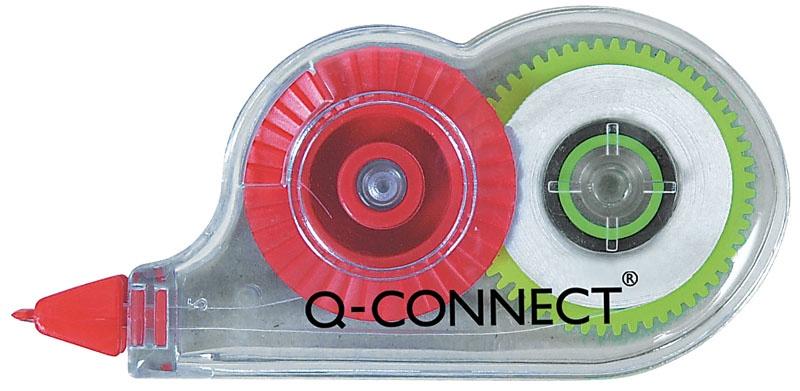 Korektor w taśmie Q-CONNECT, myszka, jednorazowy, 4,2mmx5m
