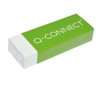 Gumka uniwersalna Q-CONNECT, 61x22x12mm, biała, Gumki, Artykuły do pisania i korygowania