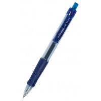 Gel Pen Retractable Q-CONNECT 0. 5mm (line), blue