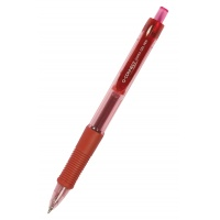 Gel Pen Retractable Q-CONNECT 0. 5mm (line), red