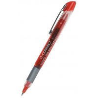Rollerball Fine Tip Pen Q-CONNECT, 0. 5mm (line), red