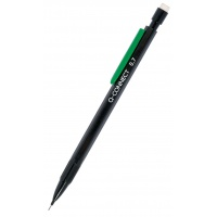 Mechanical Pencil Q-CONNECT 0. 7mm, black, FREE - leads