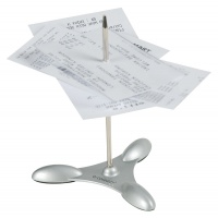 Paper Spear Q-CONNECT, metal, for bills, 11cm
