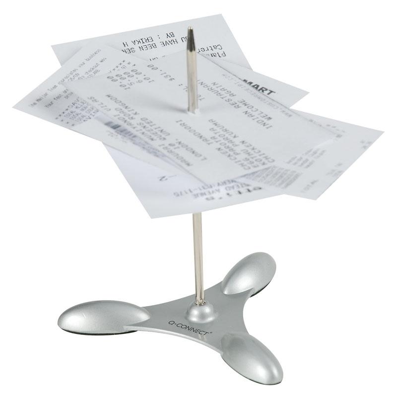 Szpikulec/nabijak Q-CONNECT, metalowy, do rachunków, 11cm, Nietypowe, Drobne akcesoria biurowe