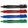 Marker permanentny Q-CONNECT Premium, gum. rękojeść, okrągły, 2-3mm (linia), czarny, Markery, Artykuły do pisania i korygowania