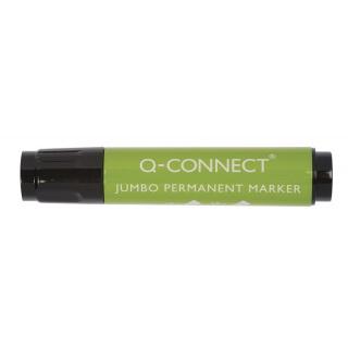 Marker przemysłowy Q-CONNECT Jumbo, ścięty, 2-20mm (linia), czarny, Markery, Artykuły do pisania i korygowania