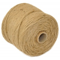 Jute Twine Q-CONNECT, 500g, 250m, brown