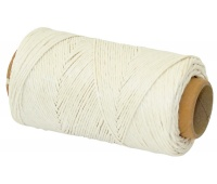 Linen Thread Q-CONNECT enhanced, waxed, 100g, 125m, white