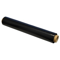 Stretch Foil Wrap Q-CONNECT, 1. 7kg, 23 microns, black