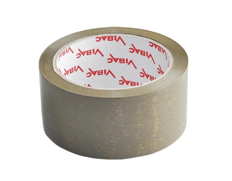 Taśma pakowa VIBAC, 48mm, 60m, brązowa, Taśmy pakowe, Koperty i akcesoria do wysyłek