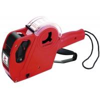 Metkownica Q-CONNECT, jednorzędowa, 8 znaków, czerwona, Metkownice, Urządzenia i maszyny biurowe