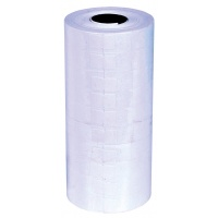 Etykiety do metkownic Q-CONNECT, 21x12mm, jednorzędowe, białe, Metkownice, Urządzenia i maszyny biurowe