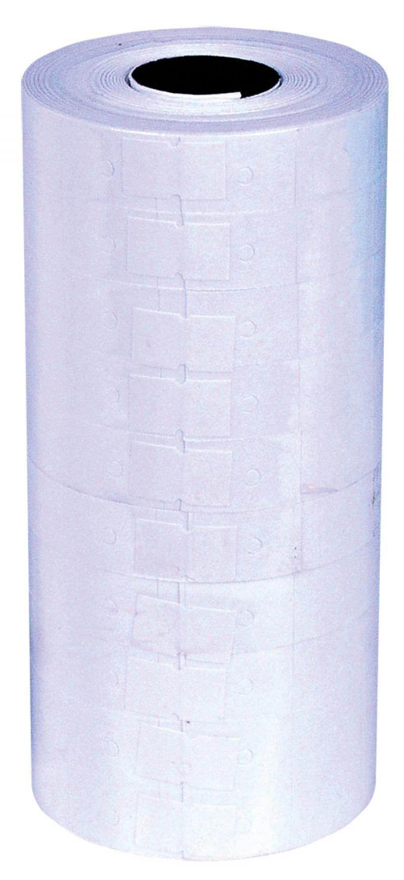 Etykiety do metkownic Q-CONNECT, 23x16mm, dwurzędowe, białe, Metkownice, Urządzenia i maszyny biurowe