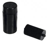 Tusz do metkownicy dwurzędowej, Q-CONNECT, średnica 20 mm, czarny, Metkownice, Urządzenia i maszyny biurowe