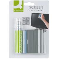 Zestaw czyszczący do monitorów TFT/LCD Q-CONNECT, Środki czyszczące, Akcesoria komputerowe