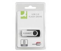 Nośnik pamięci Q-CONNECT USB, 8GB, Nośniki danych, Akcesoria komputerowe