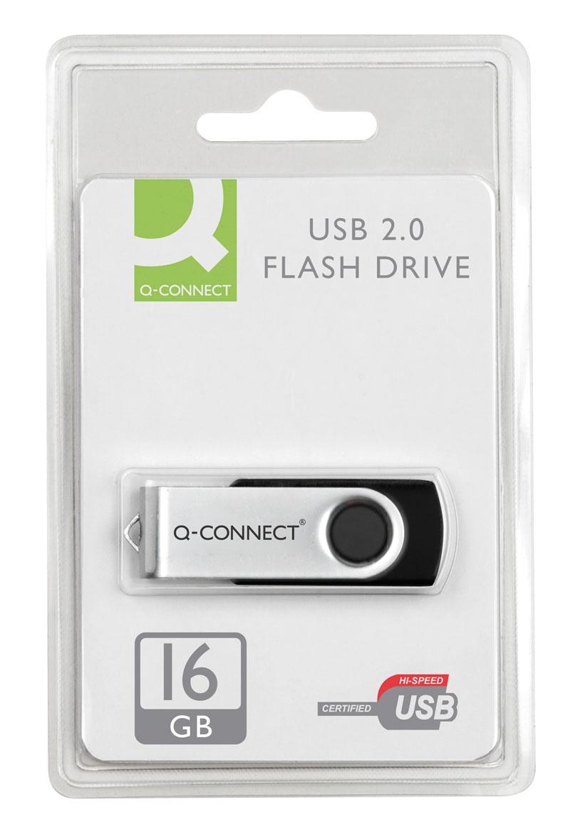 Nośnik pamięci Q-CONNECT USB, 16GB, Nośniki danych, Akcesoria komputerowe