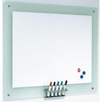 Tablica magnetyczna, 106x77cm, rama szklana, Tablice suchościeralne, Prezentacja