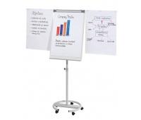 Flipchart mobilny FRANKEN, 68x110cm, tablica suchoś. -magn., z wyciąganymi ramionami, Flipcharty, Prezentacja
