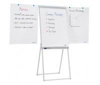 Flipchart Easel FRANKEN, 67x95cm, Magnetic Dry-wipe Board with Extending Display Arms