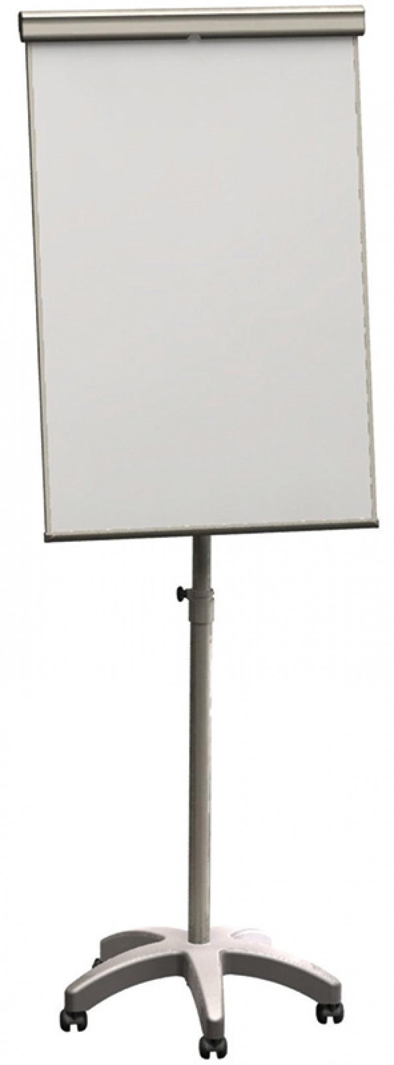 Flipchart mobilny FRANKEN, 68x105cm, tablica suchoś. -magn., Flipcharty, Prezentacja