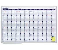 Year Wall Planner FRANKEN, dry-wipe/magnetic, 90x60cm
