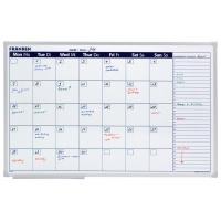 Planer miesięczny/tygodniowy FRANKEN, suchoś. -magn., 90x60cm, Planery, Prezentacja