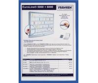 Magnetic Frame FRANKEN, A4, blue