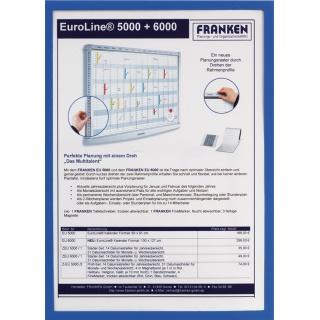 Ramka magnetyczna FRANKEN, A4, niebieska, Systemy prezentacyjne, Prezentacja