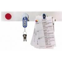 Listwa samop. magnet. FRANKEN, 100x5cm, biała, 2 magnesy GRATIS, Bloki, magnesy, gąbki, spraye do tablic, Prezentacja