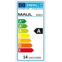 Lampka energooszczędna na biurko MAULatlantic, 11W, biała, Lampki, Urządzenia i maszyny biurowe