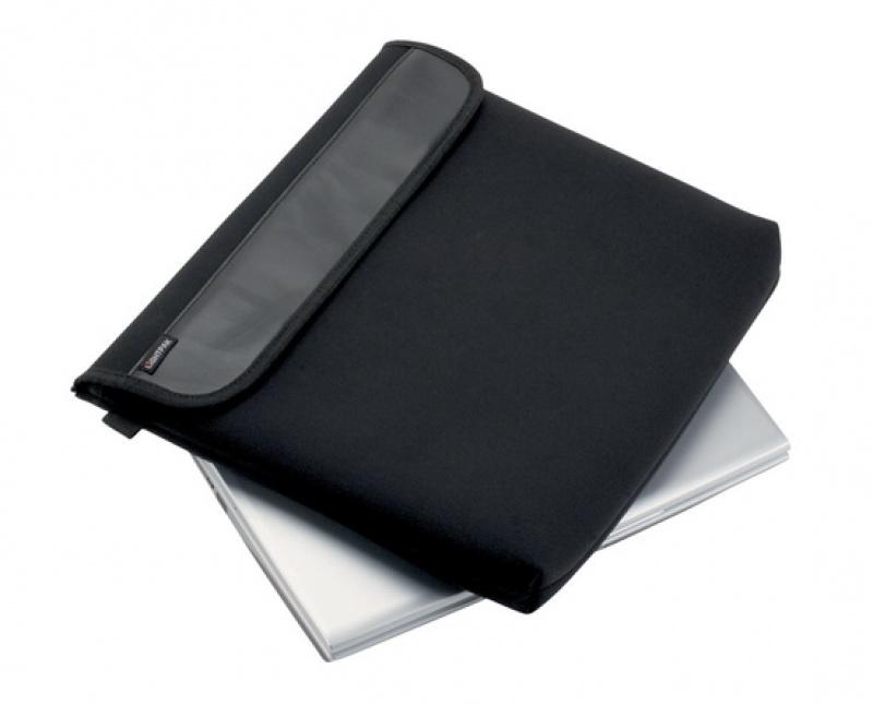 Etui na laptopa ALASSIO Neopren, neopren, 360x330x15mm, czarne, Etui, Akcesoria komputerowe