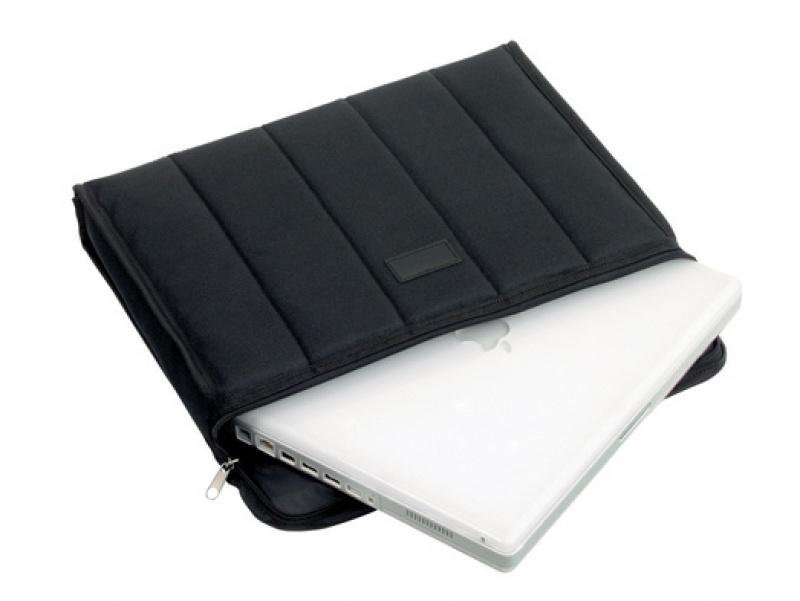 Etui na laptopa ALASSIO Cassino, neopren, 370x300x60mm, czarne, Etui, Akcesoria komputerowe