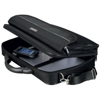 Teczka na laptopa ALASSIO Elite S, poliester, 375x290x100mm, czarna, Torby, teczki i plecaki, Akcesoria komputerowe