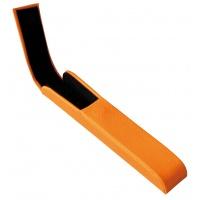 Etui na długopis ALASSIO Rivioli, skóropodobne, pomarańczowe, Długopisy, Artykuły do pisania i korygowania